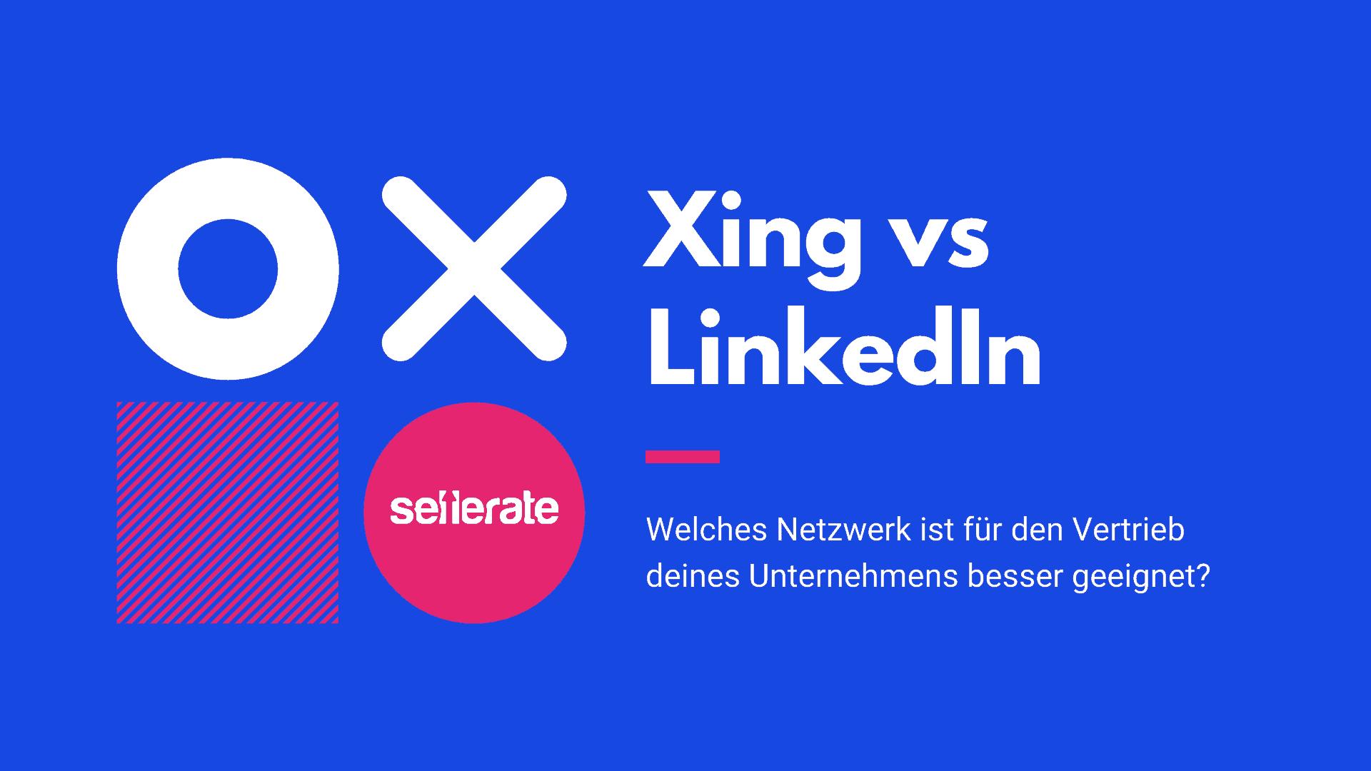 Beitragsbild: Xing vs LinkedIn