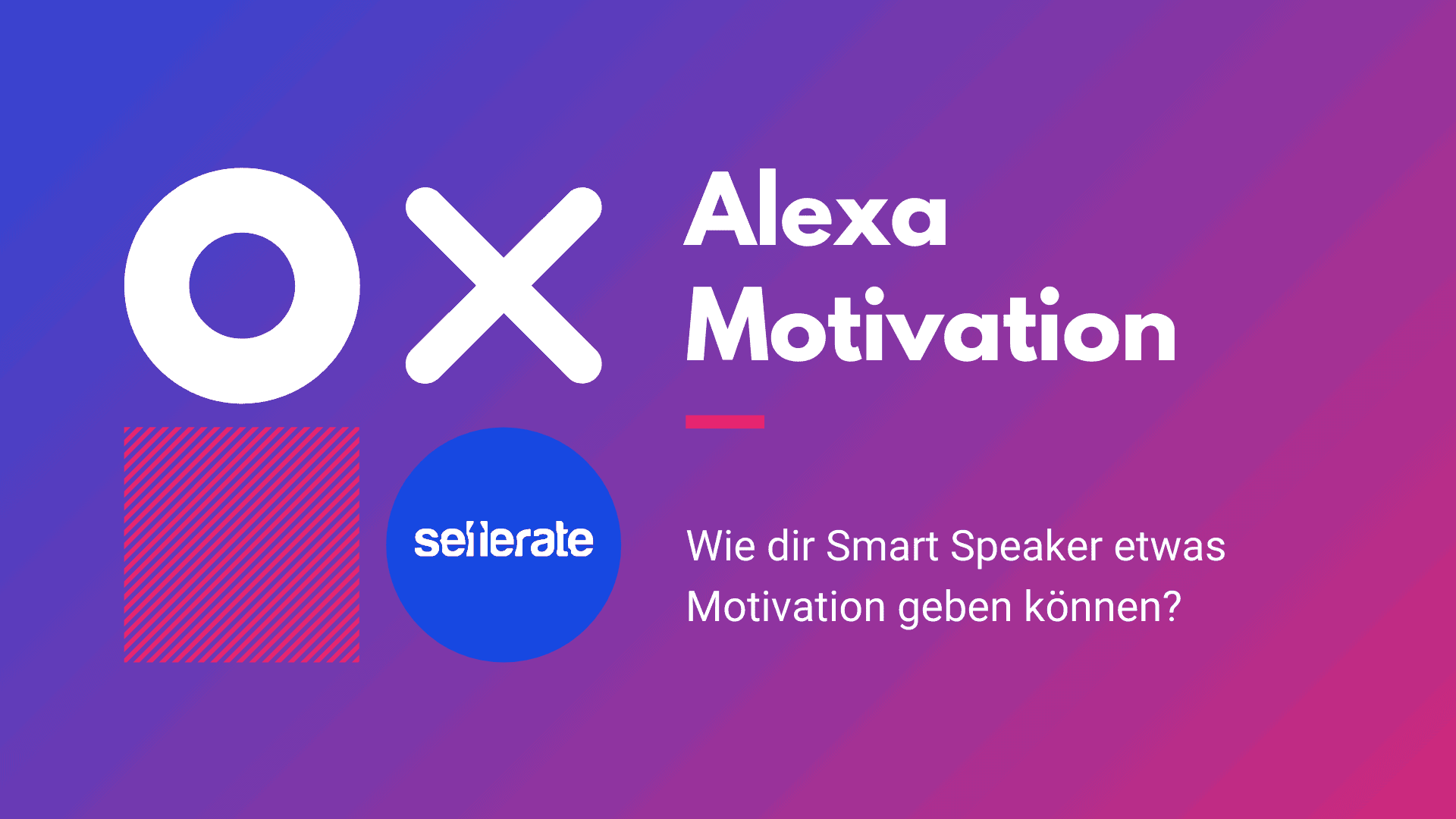 Beitragsbild: Alexa Motivation