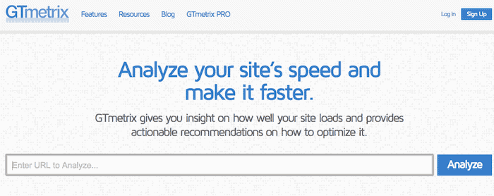 GTmetrix | Website Speed and Performance Optimization