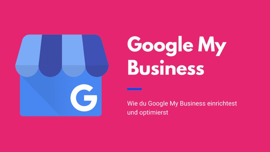 Beitragsbild: Google My Business
