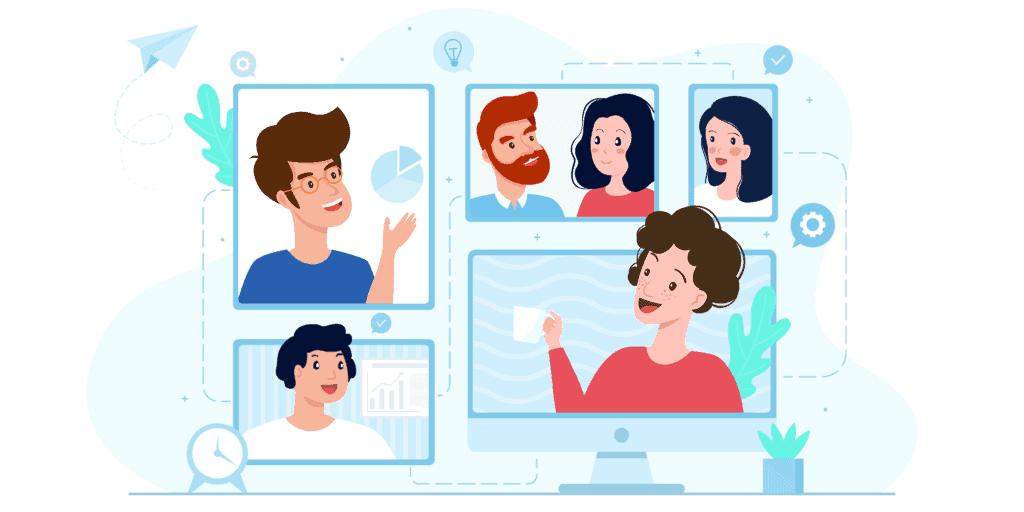 Technik Videokonferenz