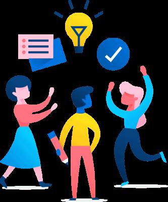 Illustration: Teamwork